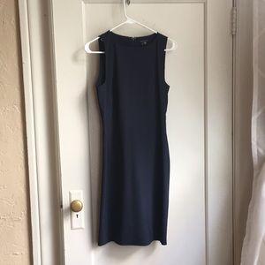 Theory Dark Blue Professional Dress